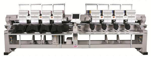 SWF K-UH1508D-45 Dual Function 8 Head (Standard Sewing Field)