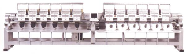 SWF K-UH1512D-45 Dual Function 12 Head (Standard Sewing Field)