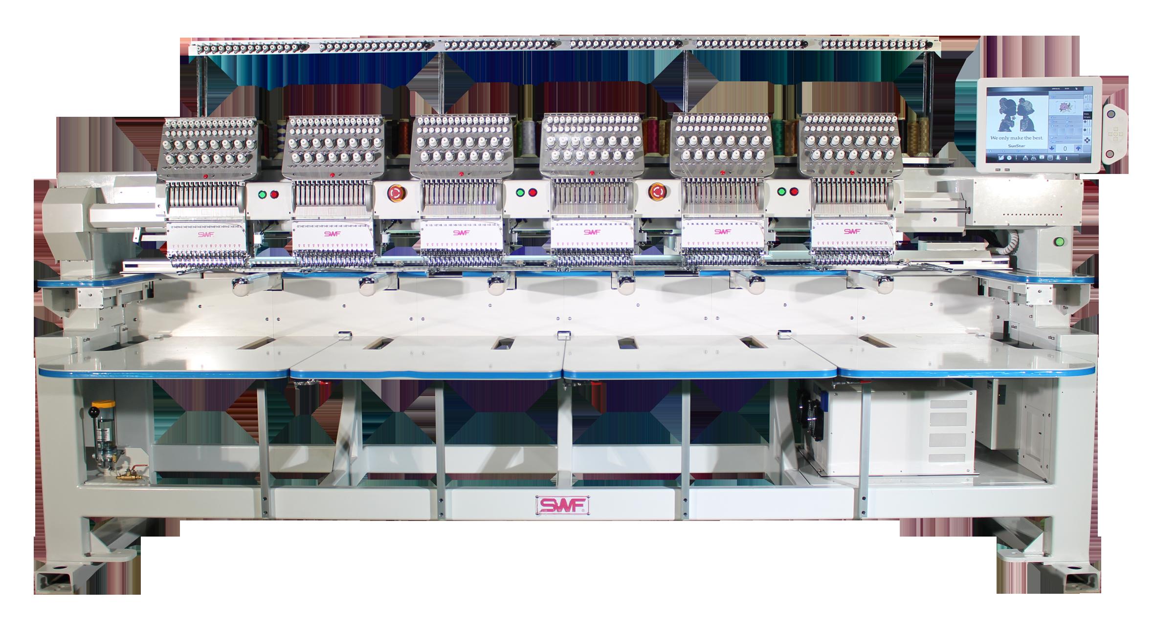 SWF Multi-Head Embroidery Machines
