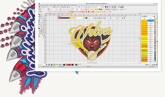 wilcom decorating image