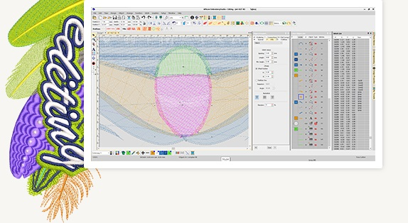 wilcom editing image
