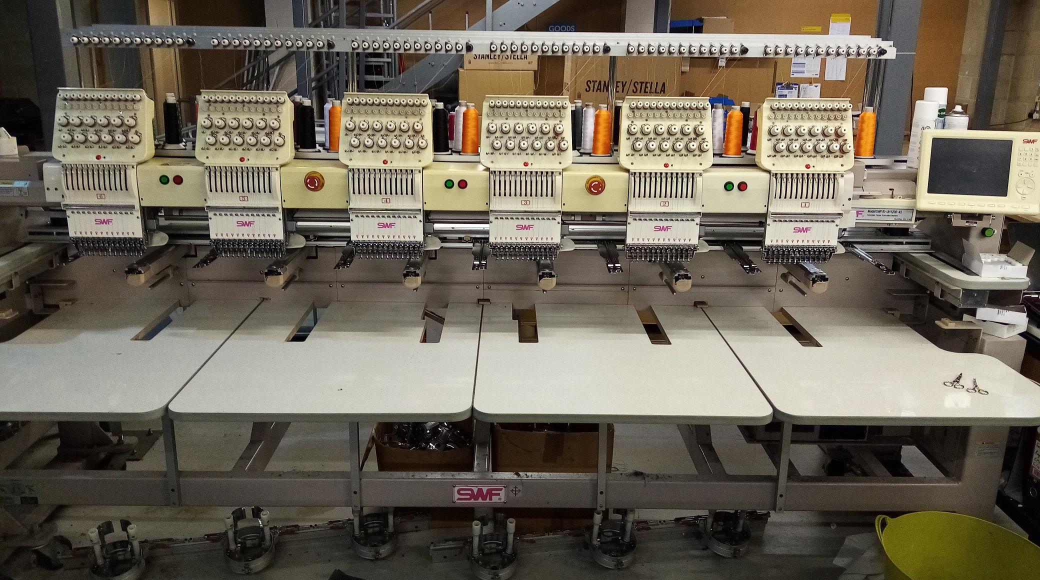 SWF / K - UH1206C-45 Embroidery Machine